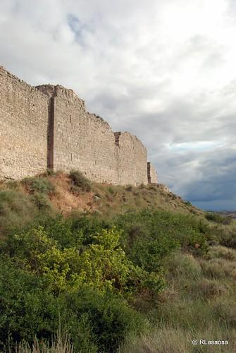Recinto amurallado de Rada, Navarra by Rufino Lasaosa