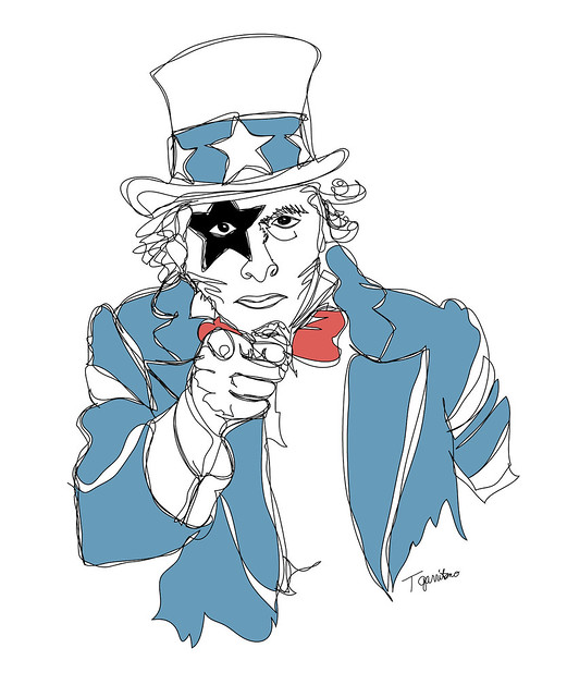 Uncle Sam   Flickr - Photo Sharing Uncle Sam Drawing Tutorial