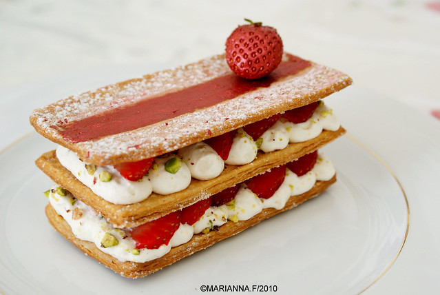 strawberry mille feuille | Flickr - Photo Sharing!