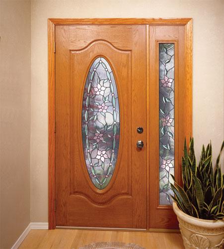 Feather River Door Fiberglass Entry Doors Light Oak Door Flickr Photo Sharing