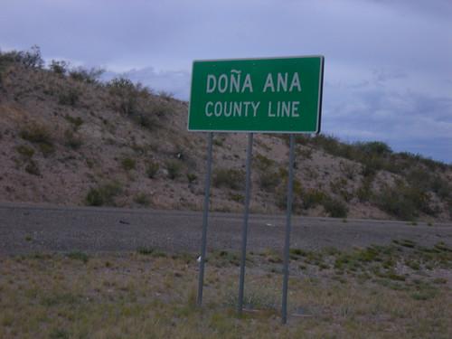 Dona Ana County Line
