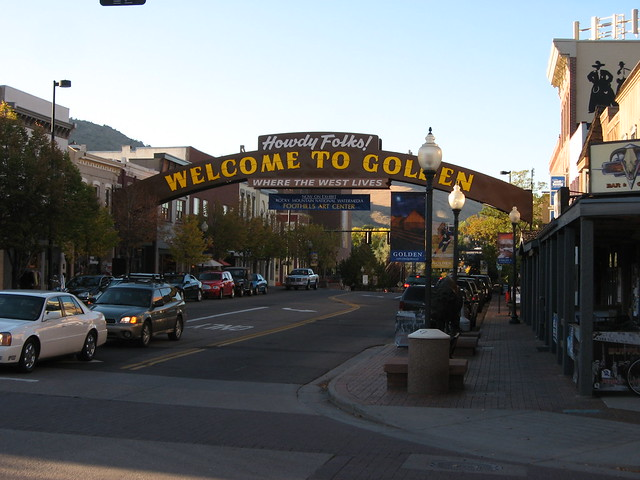 golden colorado up and coming small towns