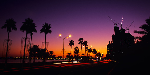 End Of Day, Doha, California II (Edit)