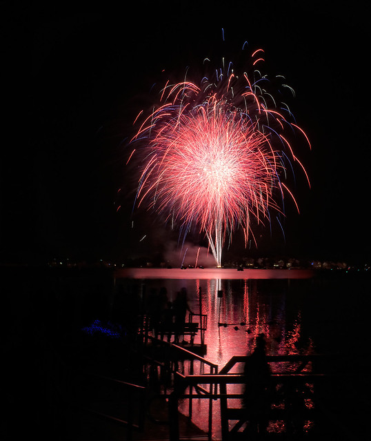 Fireworks, Sony ILCE-6000, Sony E 18-200mm F3.5-6.3 OSS LE