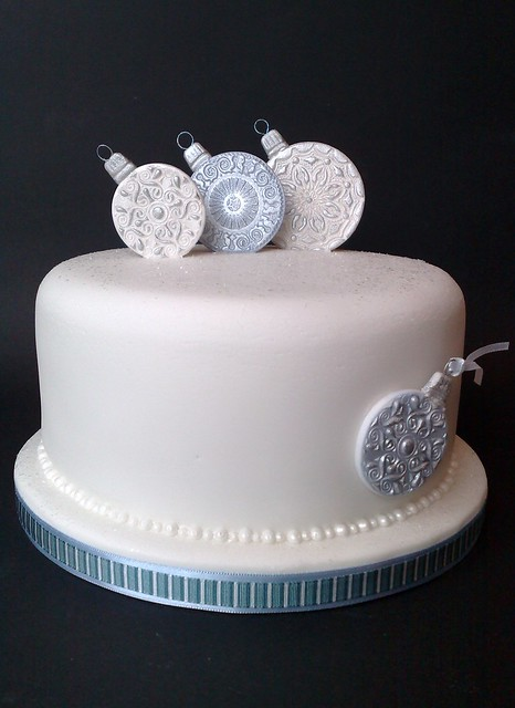 Bauble Christmas Cake Flickr - Photo Sharing!