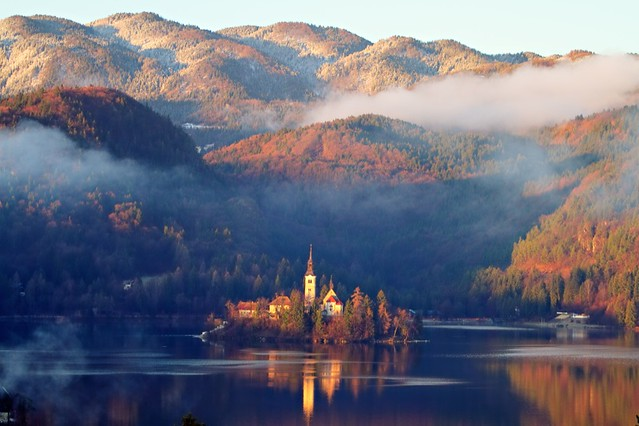Lago Di Bled Hdr Flickr Photo Sharing