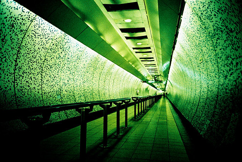 Green park green tunnel