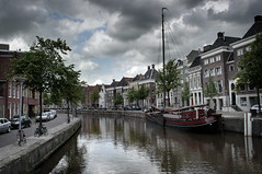 Dutch old canal