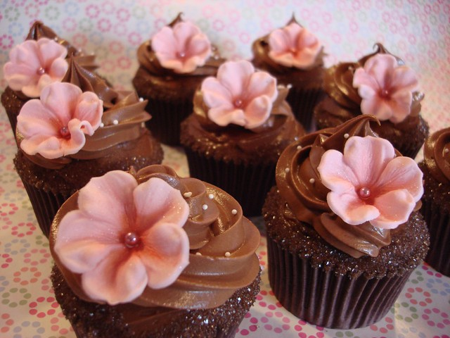 Chocolate Wedding Cupcakes | Flickr - Photo Sharing!