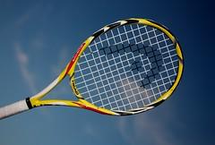 3:365 - Head miniature Tennis racquet