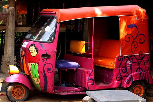 Colourful Auto rickshaw