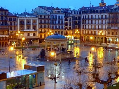 Plaza del Castillo,Pamplona