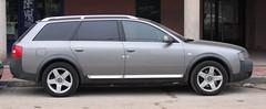 executive car(0.0), compact car(0.0), sedan(0.0), automobile(1.0), automotive exterior(1.0), sport utility vehicle(1.0), family car(1.0), wheel(1.0), vehicle(1.0), audi allroad(1.0), bumper(1.0), land vehicle(1.0),
