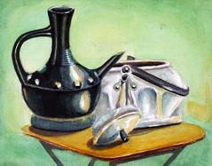 Watercolor by Thomas Alemayehu