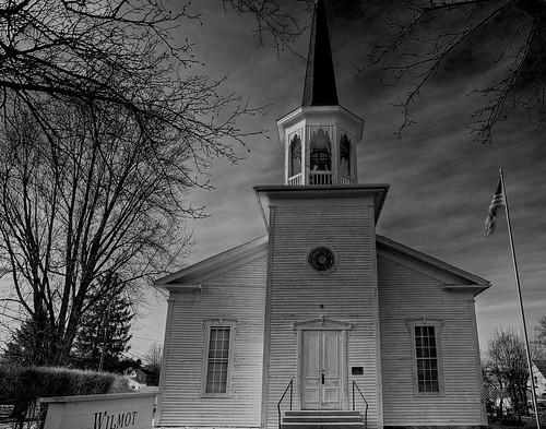 ohio bw church monochrome architecture geotagged nikon raw nef grayscale hdr photomatixpro nrhp d3s starkcountyohio wilmotohio nikongp1 pse8 sigma2470ifexdghsm whitecountrychurch