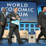 Klaus Schwab, Celso Amorim and Kofi Annan - World Economic Forum Annual Meeting Davos 2010