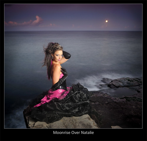 Moonrise Over Natalie