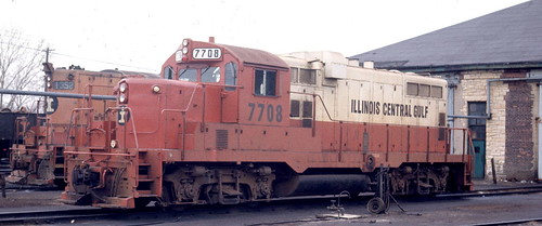 Illinois Central Gulf. 1985. by Eddie from Chicago