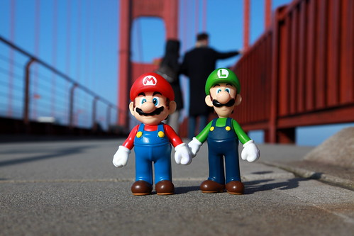 Mario & Luigi - 419 - Golden Gate Bridge