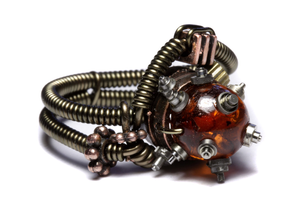 Catherinette Rings Steampunk