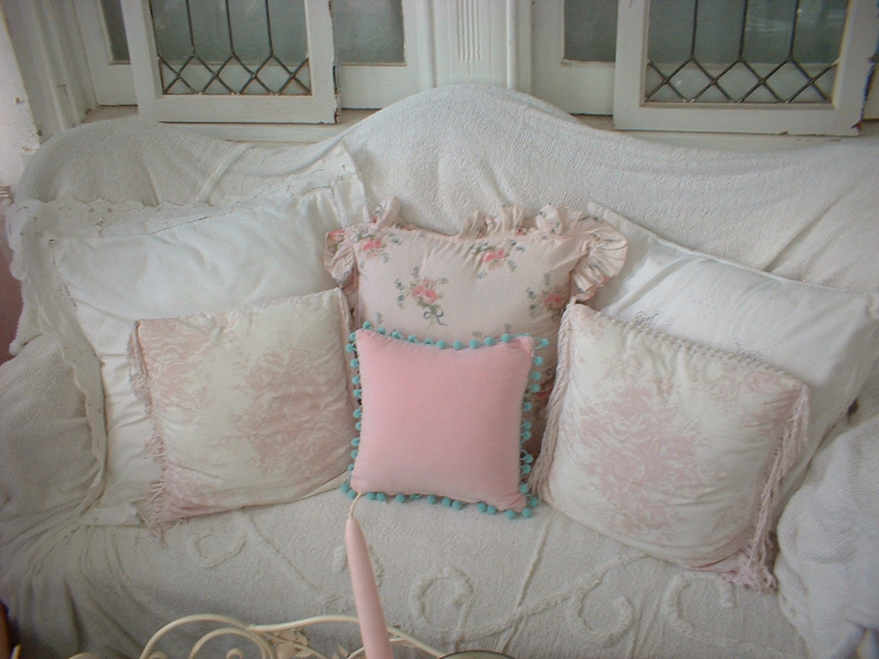 Small Shabby Chic Pillows : ~ Pillow Talk in the Shabby Chic style~ Flickr - Photo Sharing!