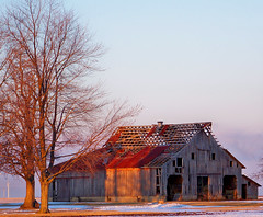 Barns,Farm Buildings, Old Structures