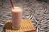Red Kidney bean milk shake