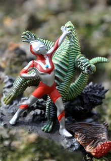 Ultraman vs. Red King
