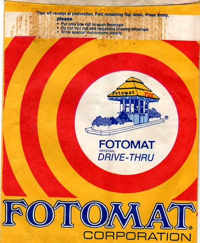 Fotomat picture envelope