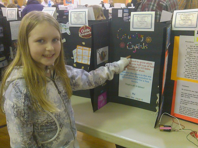 crystal science fair project Create a science fair project with crystal radios before we start diving into experimenting, researching, or even writing about the project, we.