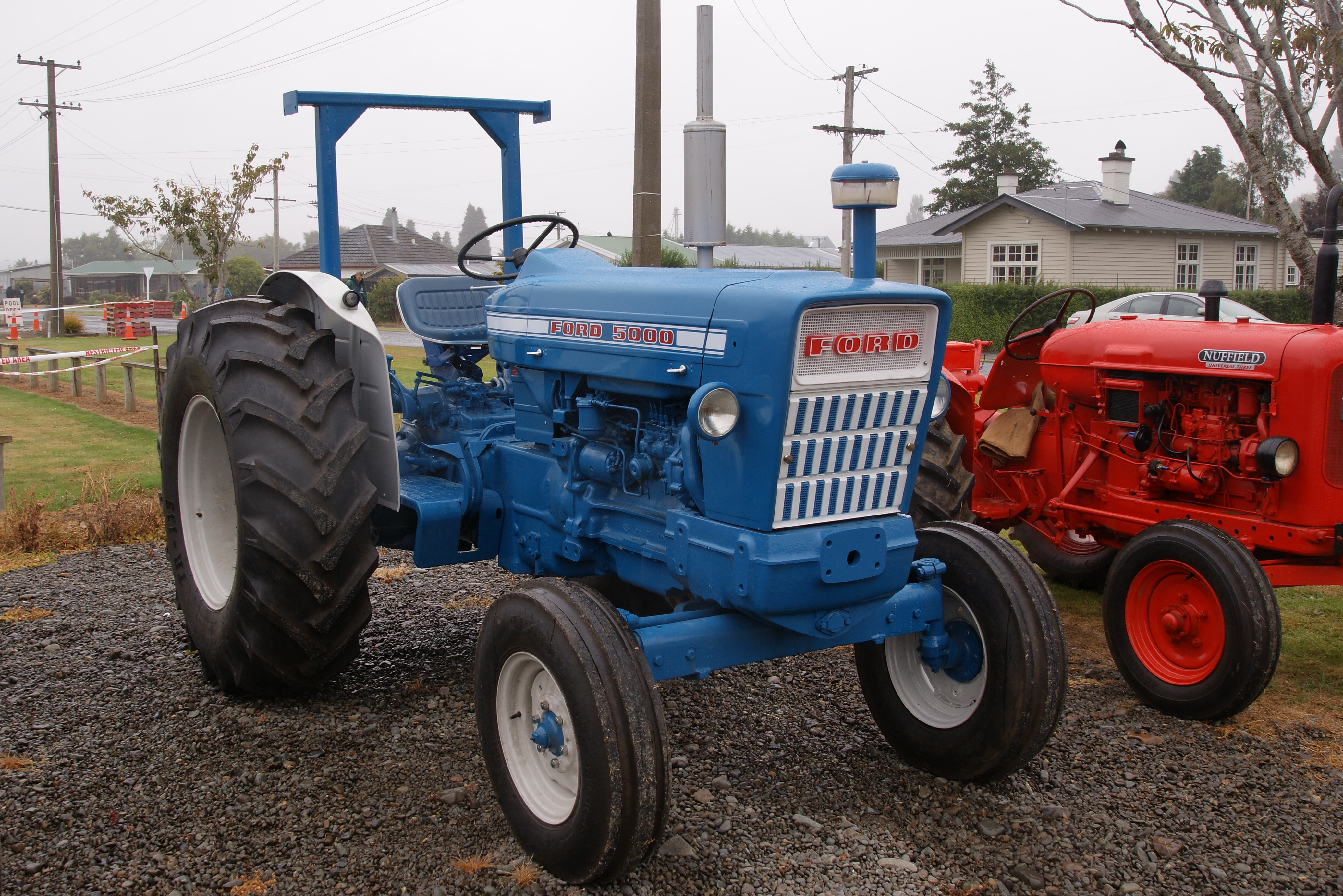 Ford Classic Tractors : Ford tractor production years built