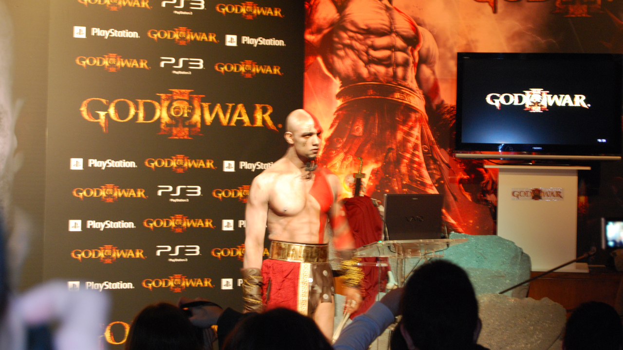 Event kratos in spagna playstation forum for Soluzione giardini superiori god war 3