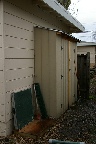 garden lean to shed