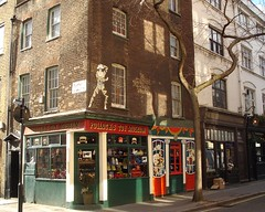 Pollock's Toy Museum, Fitzrovia, London W1