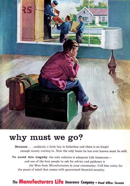Vintage Ad #1,070: Why must this boy go?