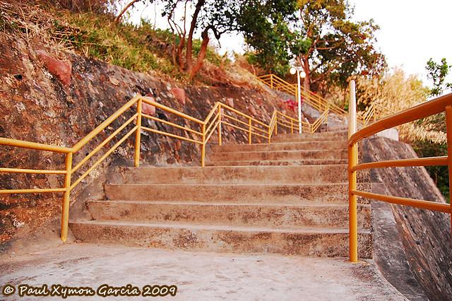 Stairs to Mount Tapyas