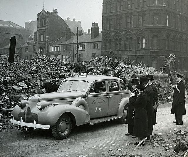 War Relief Visit 1941