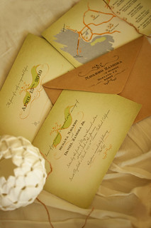 Vintage Mexican Wedding Invitations