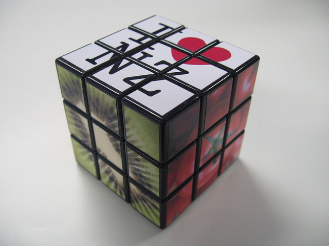Custom Color Rubik S Cube