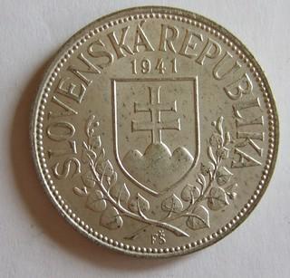 SLOVAKIA under GERMAN OCCUPATION 1941 ---20 KORONA a