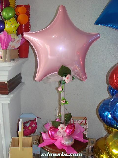 Centro de mesa con globos para xv a os visita sdanalu - Centros de mesa con globos ...