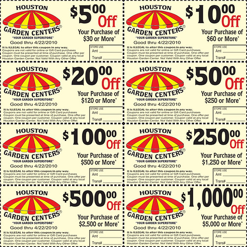 Coupons for houston garden center major savings Houston garden centers houston tx