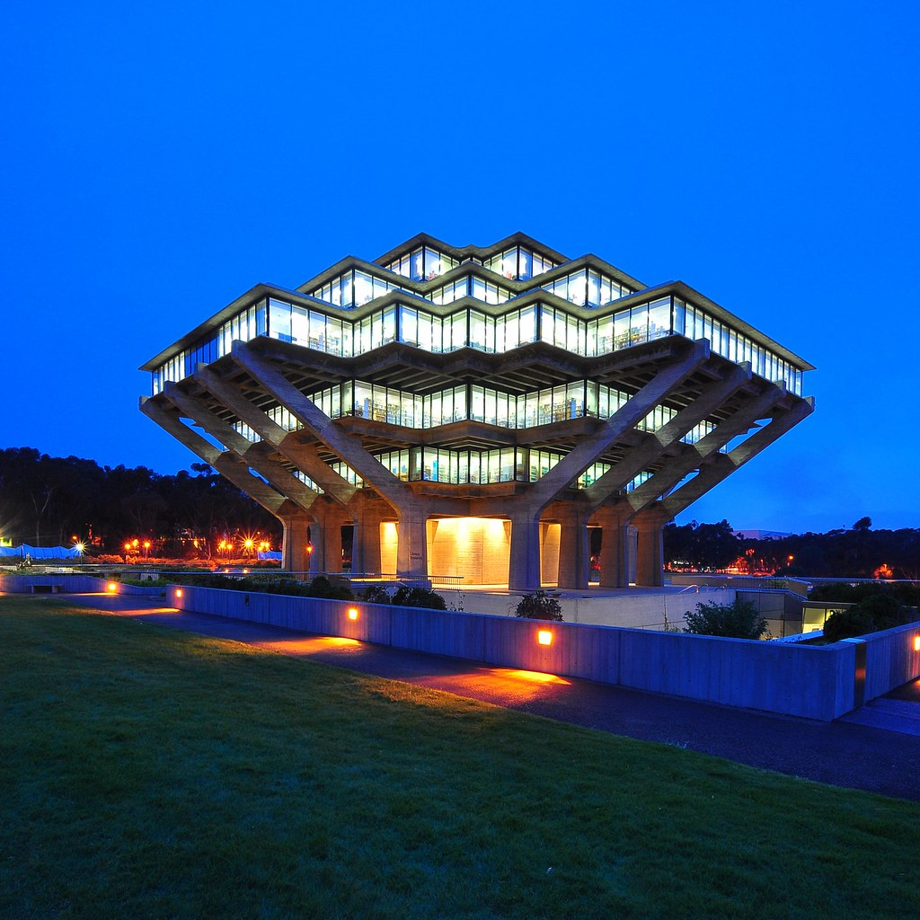 Geisel Library by Chimay Bleue