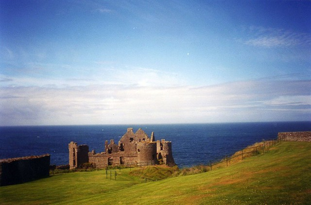 ruins of Dunluce castle