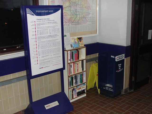 West Ealing Station Bookswap