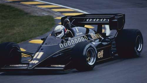Elio de Angelis in Practice at Brands Hatch 1984 5