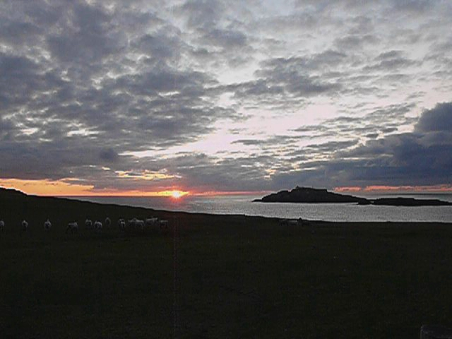Sunset at Eagle Island, Belmullet Peninsula, Mayo, Ireland