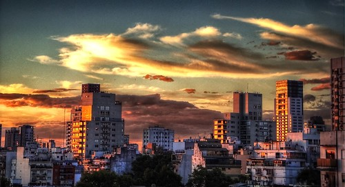 city sunset argentina buildings atardecer edificios buenosaires ocaso hdr theunforgettablepictures couda artofimages bestcapturesaoi