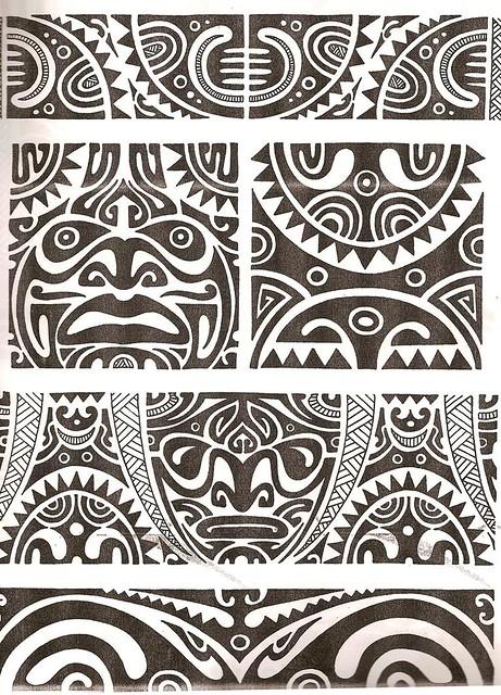 tribal tattoo new zealand Polinesia Tatuaje kirituhi Maori   Polynesian tattoo Flickr  Photo
