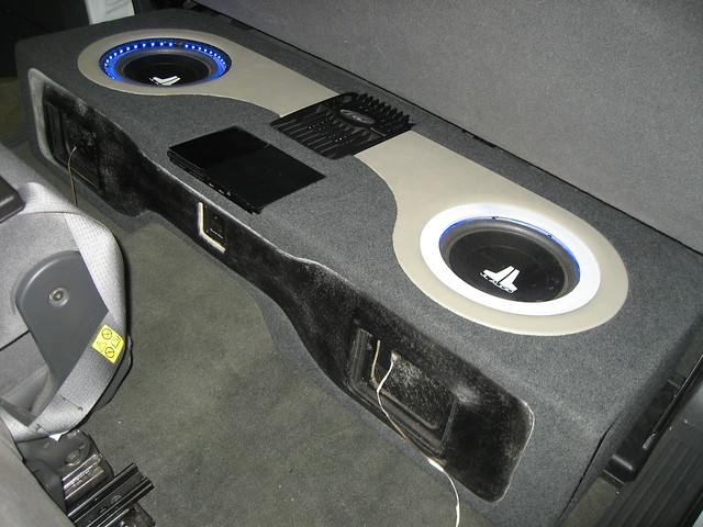 Custom Ported Sub Box 4 2005 Gmc Sierra Pickup Custom